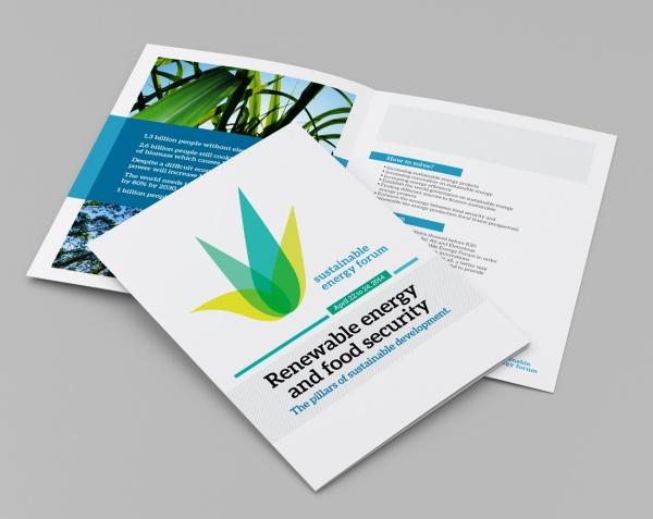 blank leaflet or brochure in A4 size.; Shutterstock ID 151421309
